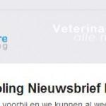 Krijg jij de nieuwsbrief van Veterinaire Nascholing al?