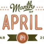 Op de agenda voor april