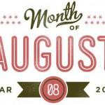 Op de agenda voor augustus