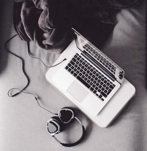 koptelefoon laptop