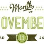 Op de agenda voor november